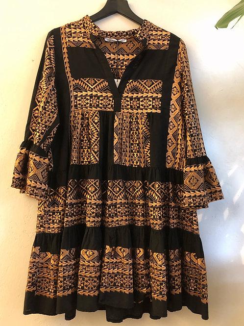 Kori Short Embroidered Dress