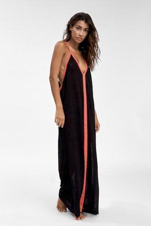 Inca Sundress Black/ Red