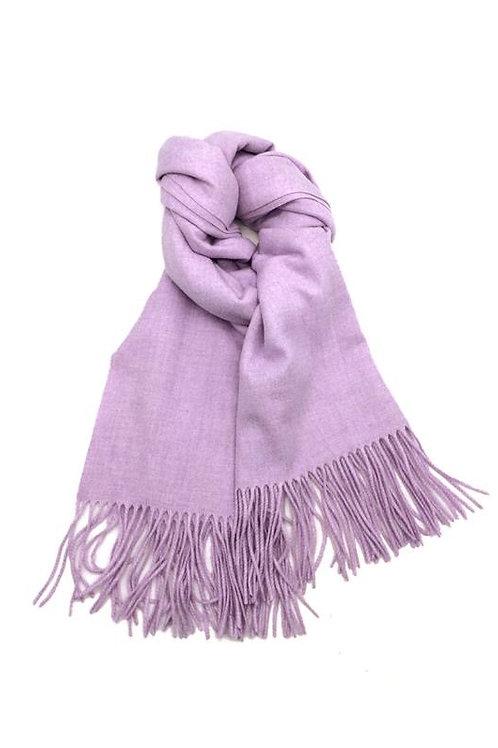 Schal aus weichem Kaschmir-Mix lila