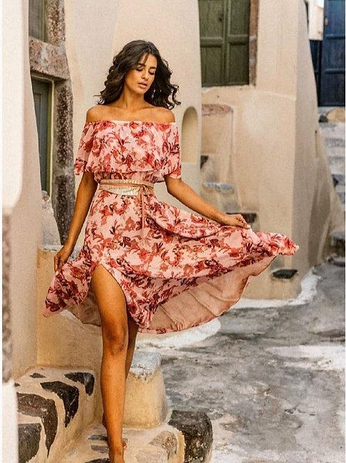 Anna Samouka Off-Shoulder Kleid