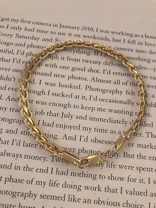 Lola Armband gold 19cm