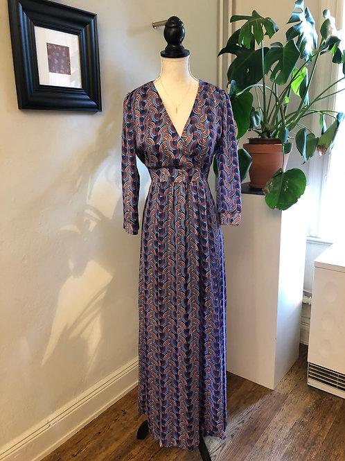 Kleid 'Maya' blau