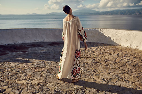 Kori long Kaftan Dress