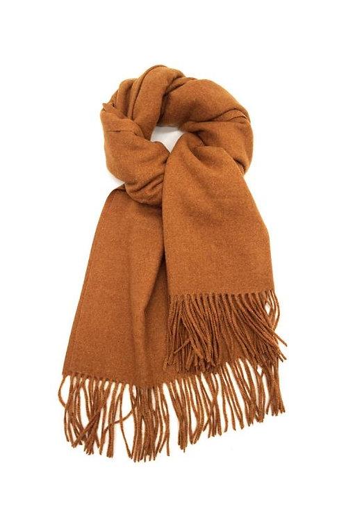 Schal aus weichem Kaschmir-Mix camel