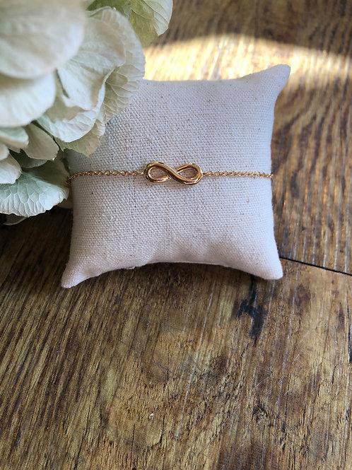 Armkette 'Unendlichkeit' gold