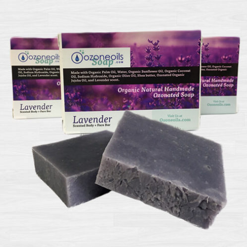 Ozonated Lavender Soap