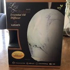 Lux Marble White Glass Diffuser