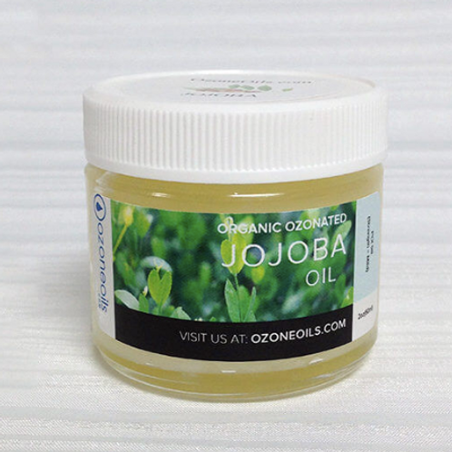 Ozonated Jojoba Oil