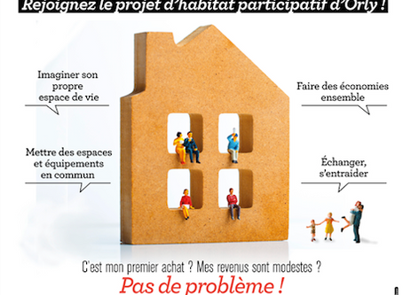 Habitat participatif: du nouveau à Orly