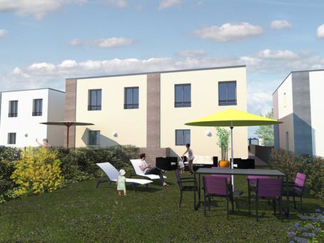 Logipostel Construit 12 maisons à Lieusaint (77)