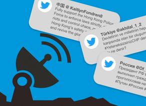 @Twitter toma acciones vs  #China, #Rusia y #Turquía