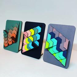 mini triangle mixkleuren