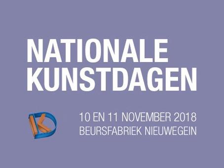 Dit jaar aanwezig bij de Nationale Kunstdagen in Nieuwegein