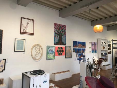 Mijn werk hangt nu bij Kunstsuper Delft!