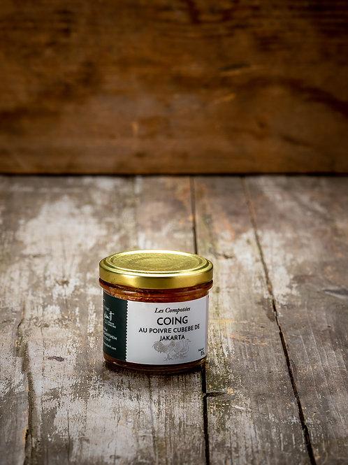 Compotée de Coing au poivre de Cubèbe de Jakarta, 85g