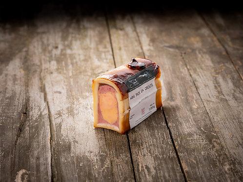 Mini pâté en croûte de Foie Gras d'Alsace, 330 g sous-vide