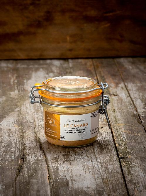 Foie Gras de Canard d'Alsace mi-cuit en verrine Le Parfait, 150g ou 300g