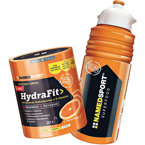 NAMEDSPORT HYDRAFIT (PACK)- TORANJA - 400g