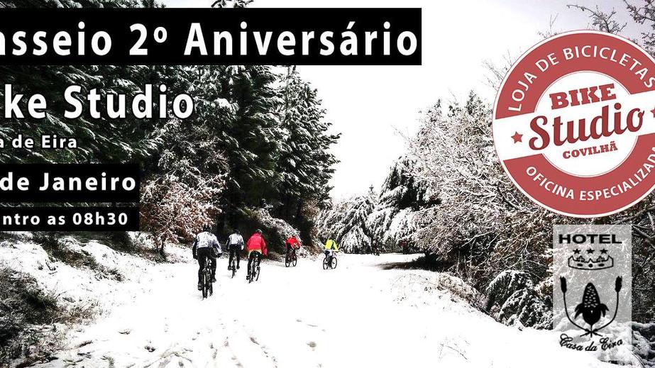 Passeio 2º Aniversário Bike Studio - Raid à Neve - 22 de Janeiro