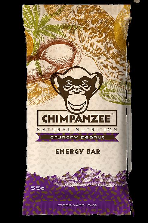 CHIMPANZEE - Crunchy Peanut Energy Bar - 55g