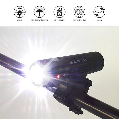 Luz dianteira Eltin 850 Lumens
