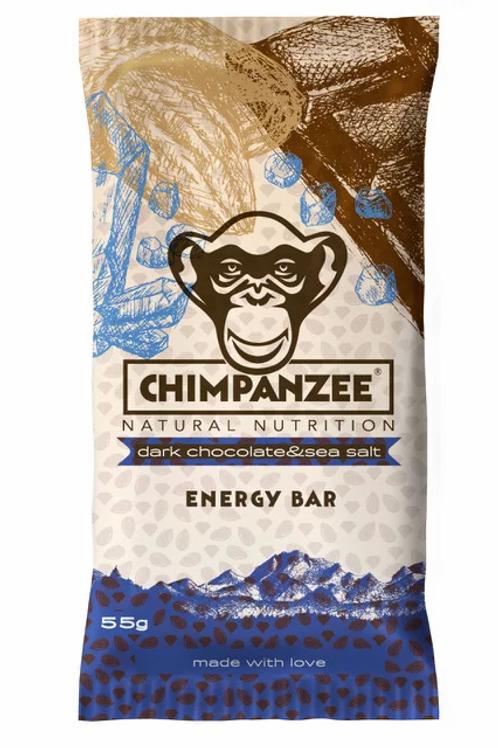 CHIMPANZEE - Chocolate Negro + Sal Marinho Energy Bar - 55g
