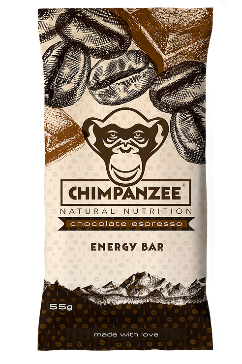 CHIMPANZEE - Chocolate Espresso Energy Bar - 55g