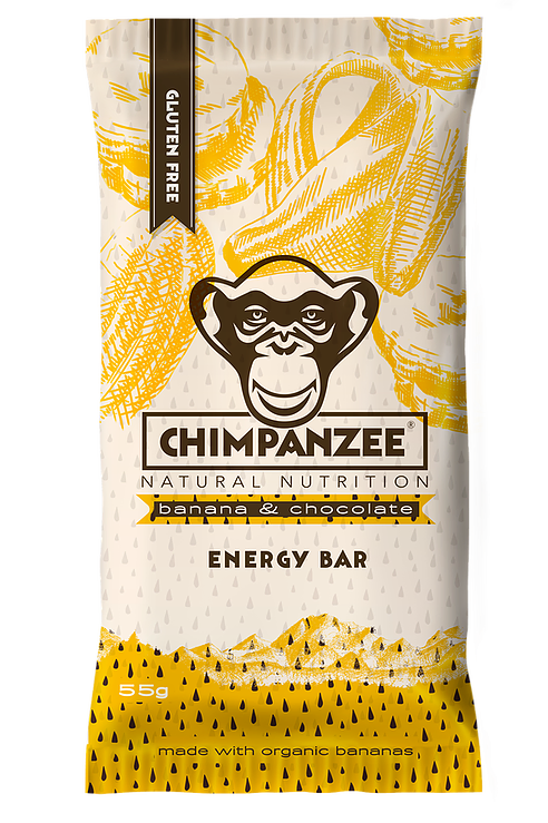 CHIMPANZEE - Banana & Chocolate Energy Bar - 55g