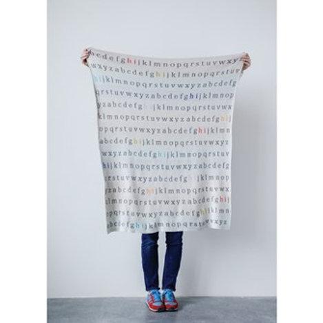 Alphabet Blanket