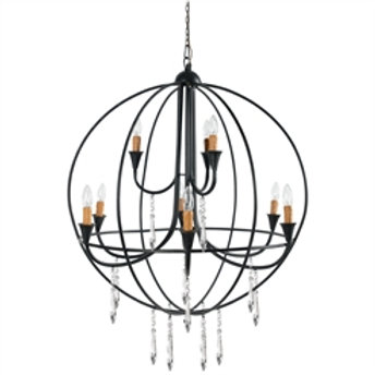 Ballards  9-Light Chandelier