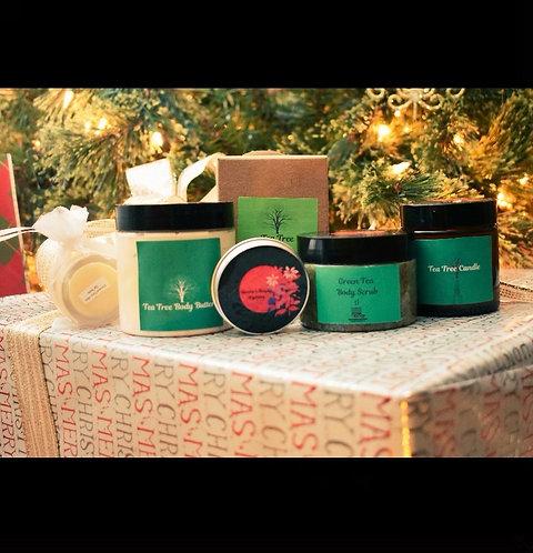 Green Tea, Tea Tree Gift Basket