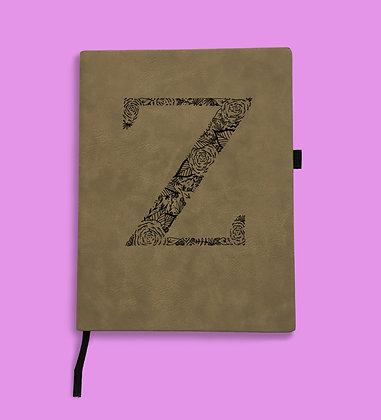 Journal Letter Z