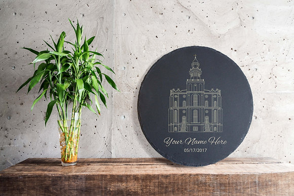 Stone Slate - St. George Temple XL Edition