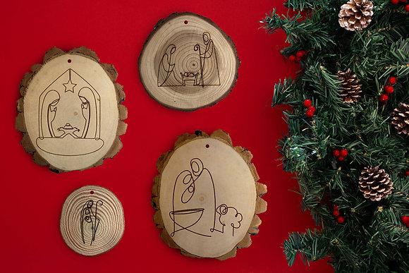 Christmas Ornaments - Set of 4