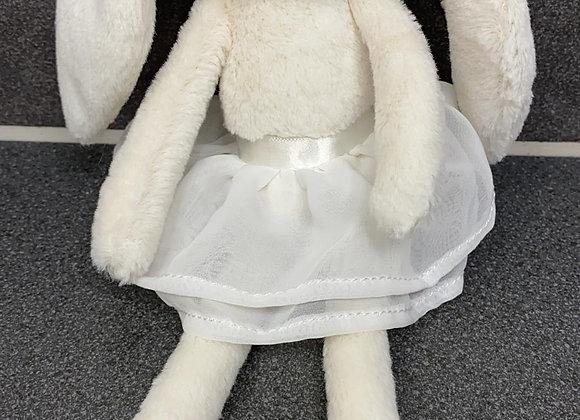 Cream Arabesque Bunny
