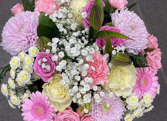 Florist's Choice Pastels Hand Tied Bouquet