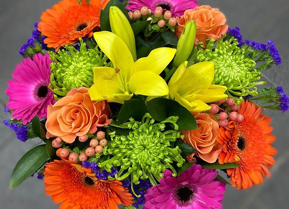 Florist's Choice Bright Hand Tied Bouquet