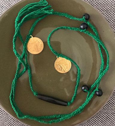 Sautoir SHANGRILA perle noire