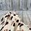 Thumbnail: Grande nappe coton Vincent kaki rouge