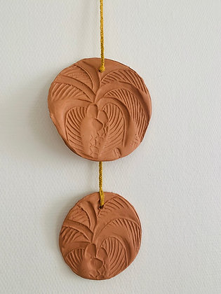 Walldecor CALYPSO terracotta