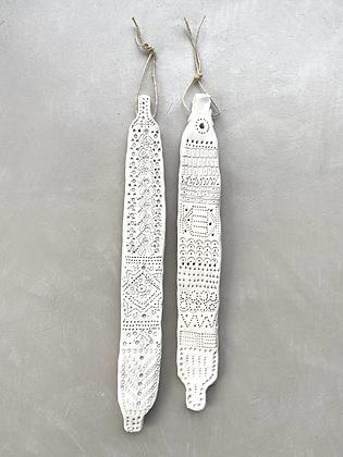 Zoulou duo argile blanche