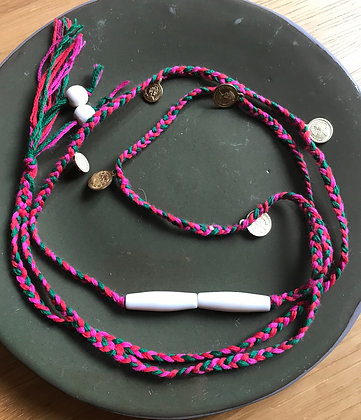 Sautoir SHANGRILA et ses perles ivoires