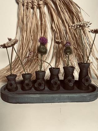 Vase romantic Boho 6 pièces