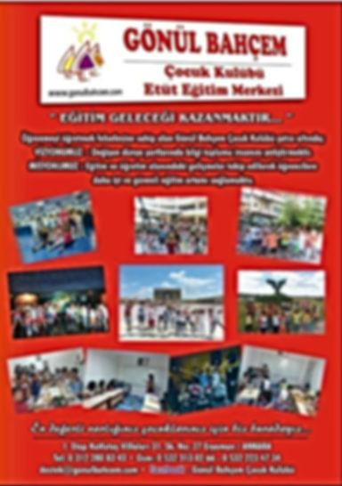 Etüt Eğitim Programı Broşürümüz
