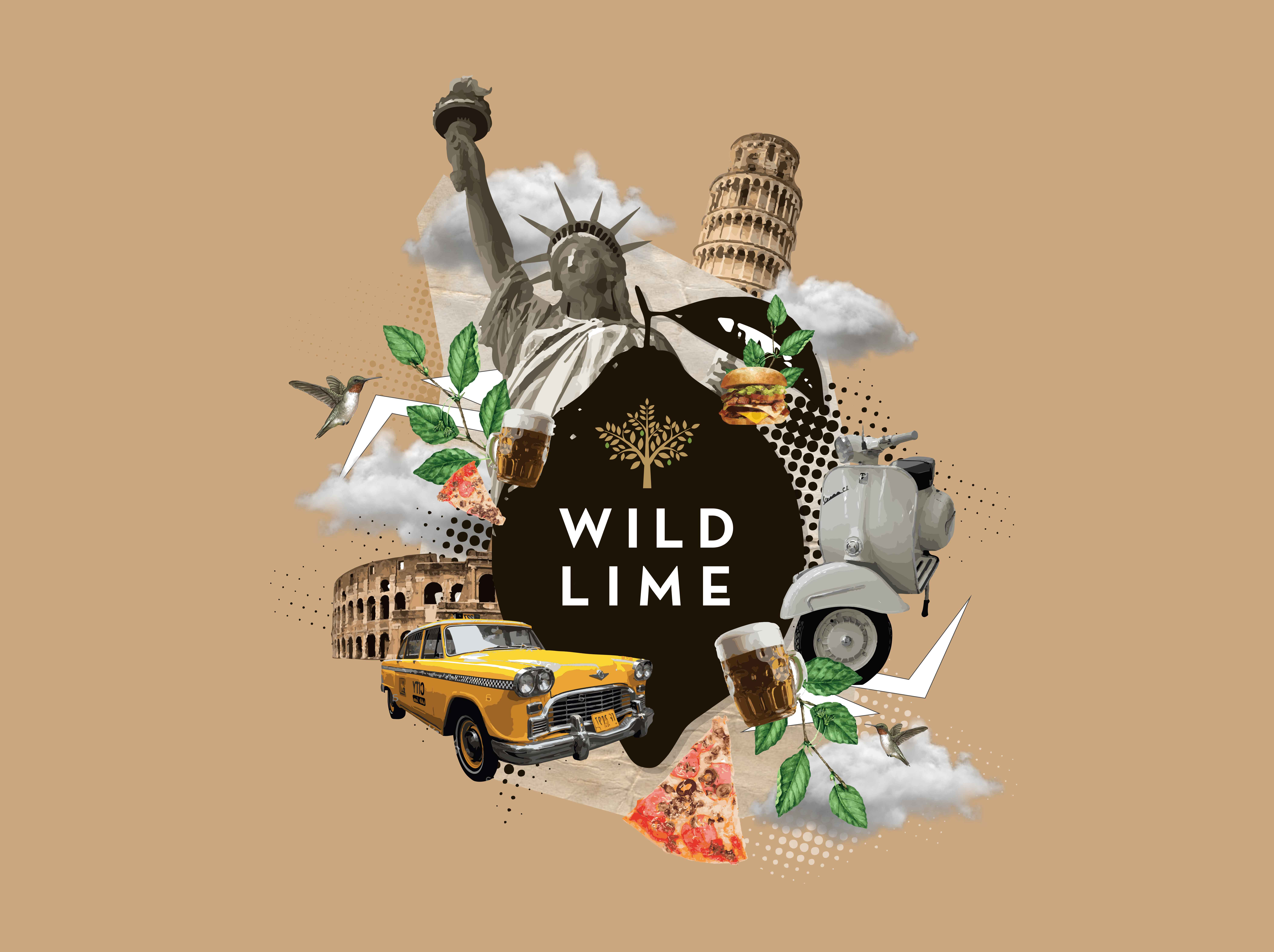wild lime.