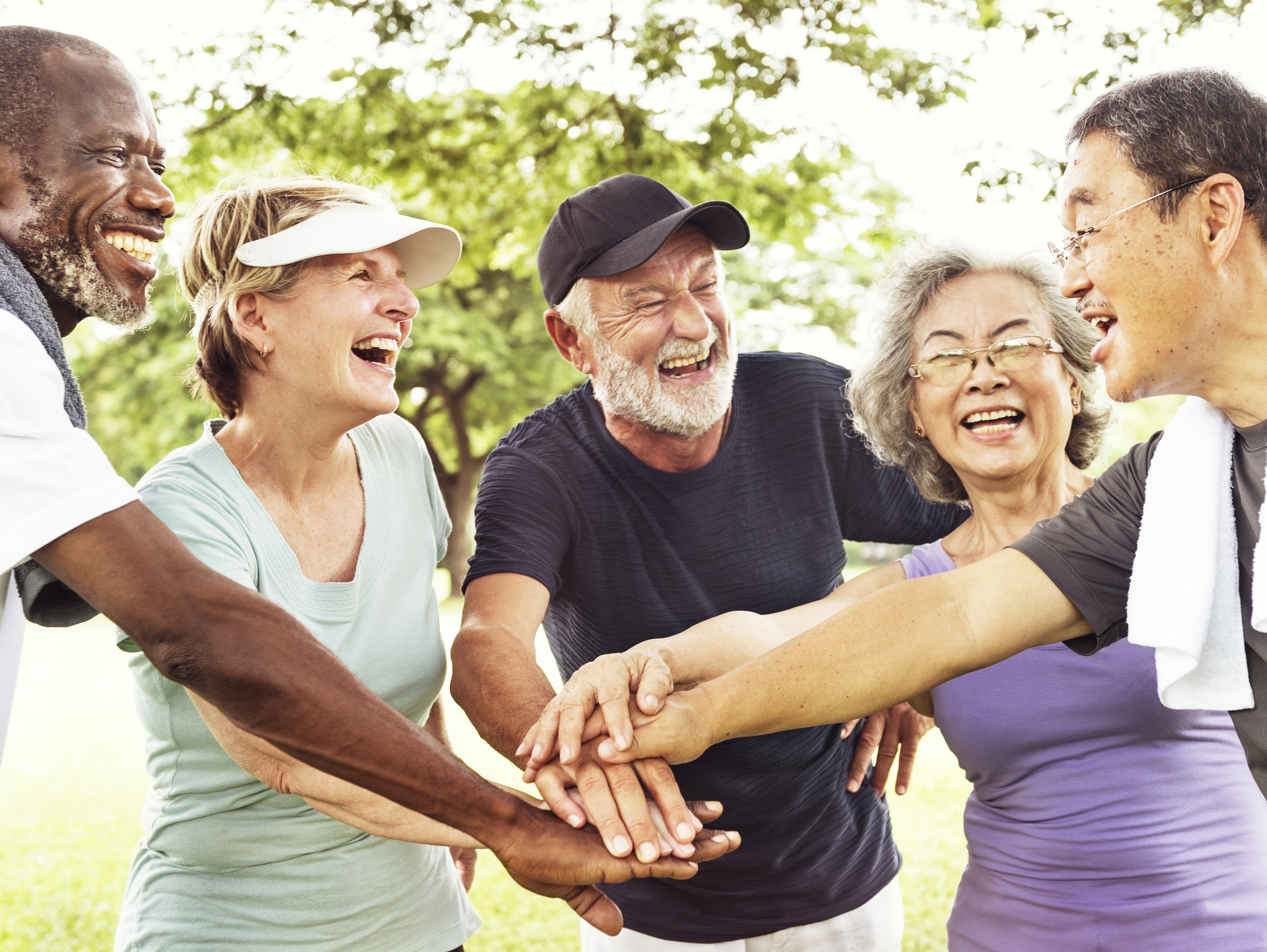 Group Of Senior Retirement Exercising Togetherness Concept.jpg