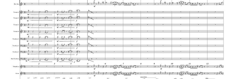 Parish - The Thought (score & parts)