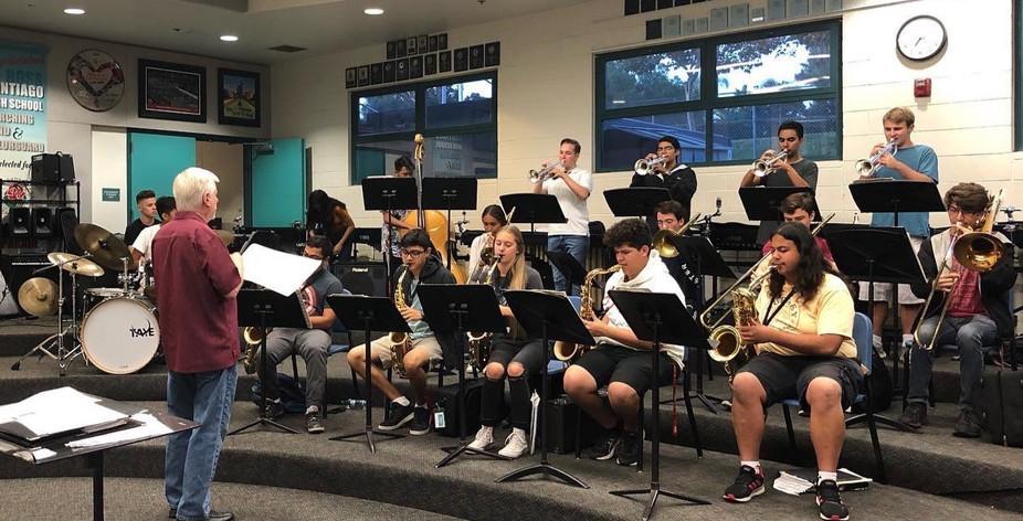 Clinic with the Santiago Jazz Ensemble 1, October 2019