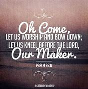 Sign Psalm 95