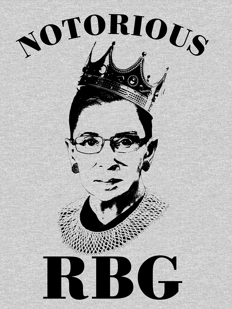 Ruth Bader Ginsburg with a Crown